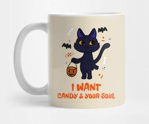 gifts, cute mug, and Halloween image