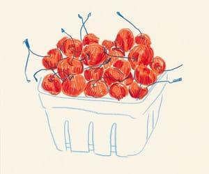 alternative, art, and cherry image