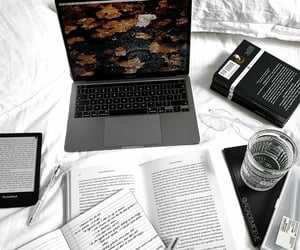 books, glasses, and inspiration image