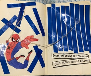 journal, Marvel, and spider image