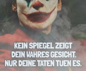 joker, text, and deutsch image