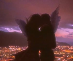 angel, city, and aesthetic image