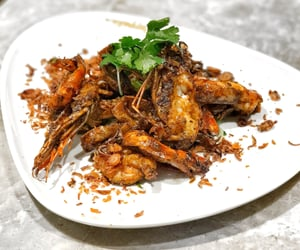 prawn, asian food, and malaysian food image