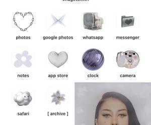 inspo, homescreen, and ios14 image