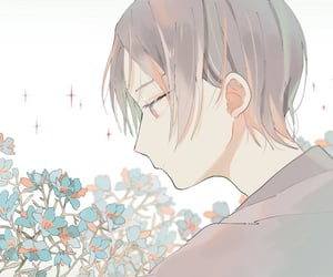 flowers, aesthetic, and anime image