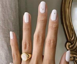 nails, ring, and beauty image