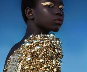 beauty, editorial, and glam image