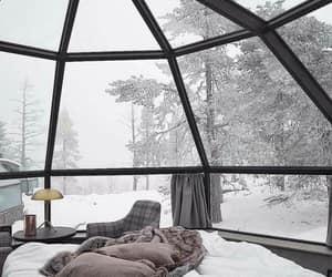 winter, snow, and cozy image