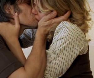 couple, kiss, and man image
