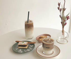 aesthetic, soft, and coffee image