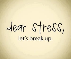 break-up, quotes, and stress image