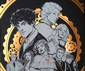 the mortal instruments, will herondale, and jem carstairs image