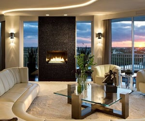 design, fireplace, and rich image