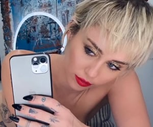 cyrus, jewelry, and miley image