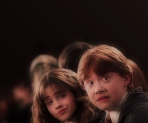 ron weasley, harry potter, and hermione granger image