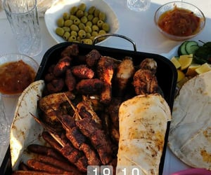 arabic, breakfast, and food image
