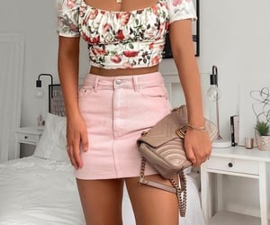 cute clothes, gucci, and mini skirt image