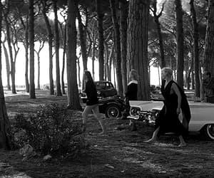 60s, la dolce vita, and black and white image
