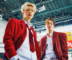 exo, lucas, and SHINee image