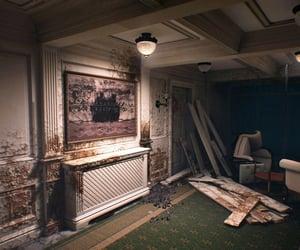 abandoned, ruin, and run-down image