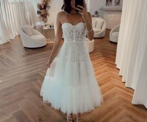 wedding gown, vestido de novia, and boho wedding dresses image