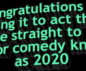 2020, funny, and humor image