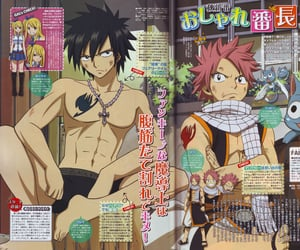 anime, gray fullbuster, and magazine image