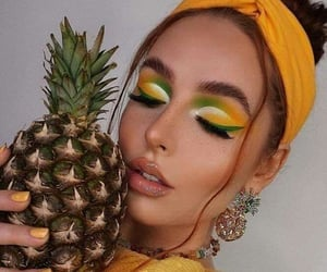 FRUiTS, make up, and piñas image