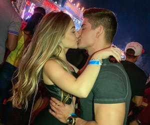 blonde, couple, and goals image
