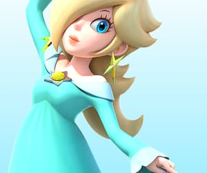 gaming, princess peach, and rosalina image