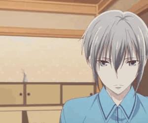 anime girl, cry, and gif image