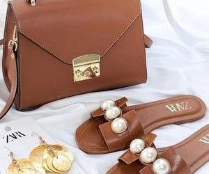 bag, earrings, and fashion image