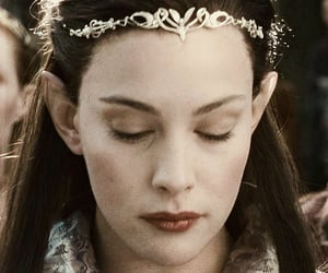 liv tyler, the lord of the rings, and j r r tolkien image