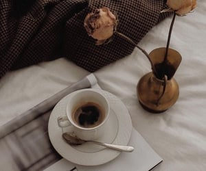 coffee, dior, and rose image