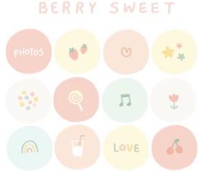 berry, kawaii, and soft image