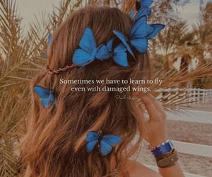 butterflies, life, and quotes image