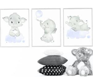 etsy, nursery art, and print wall art image