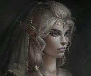 art, arte, and elfo image
