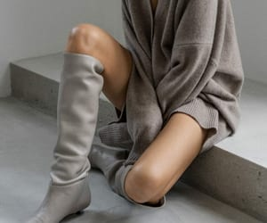 blogger, cashmere, and fall fashion image