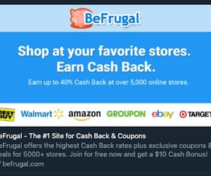 1, cash back, and discounts image