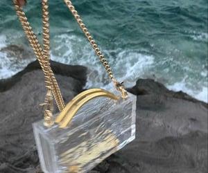 bag, fashion, and sea image