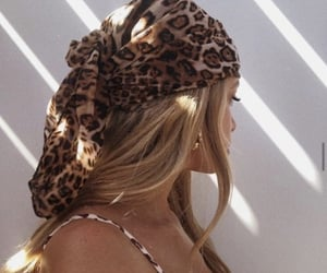 beauty, cheetah, and girl image