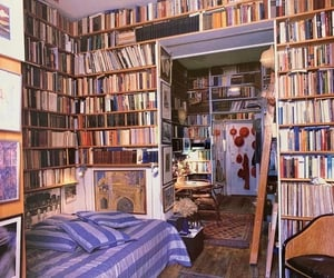 book, bedroom, and interior image