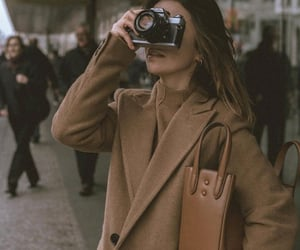 article, chic, and fall image