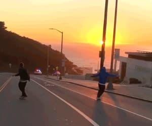 aesthetic, grunge, and skateboarding image