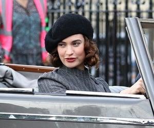 actress, beautiful, and lily james image