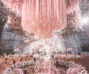 flowers and rosegold image
