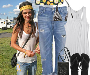 fashion, hippie, and jessica szohr image