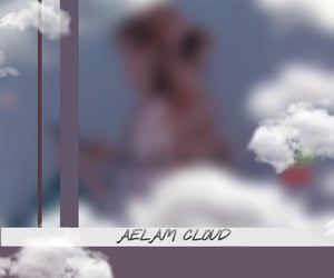 clouds, edit cute, and aelam cloud image