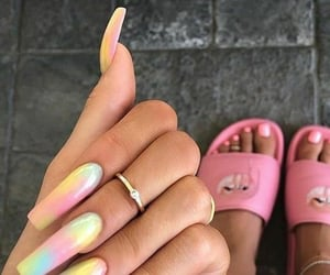 beauty, manicure, and kylie jenner image